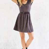 Kimchi Blue Carousel Fit + Flare Sweater Dress-