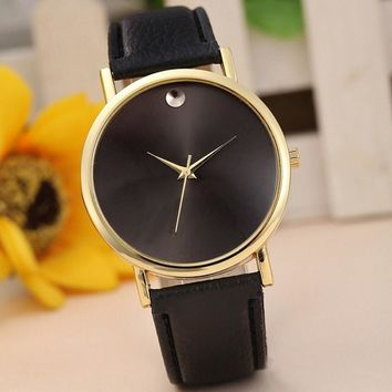 Women Watches Women Retro PU Leather Band Analog Quartz Wrist Men's Watch Men Clock Hour Reloj Mujer Ladies Watch