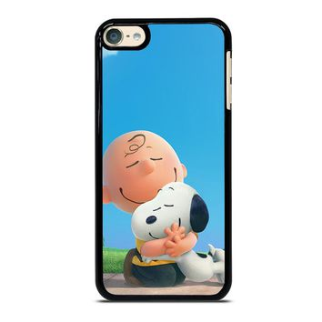 SNOOPY AND CHARLIE BROWN THE PEANUTS iPod Touch 4 5 6 Case Cover