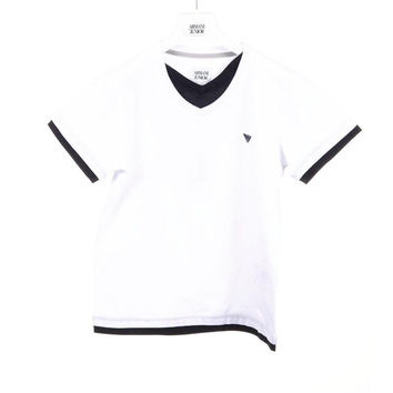White 8A - 8 Years Armani Junior boys t-shirt C4H08 JR 10