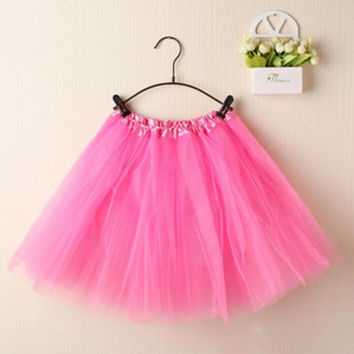 Elegant Candy Color Petti-Skirt