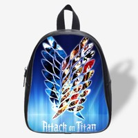 Attack On Titan Logo Design for School Bag, School Bag Kids, Backpack
