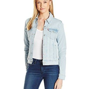 Levi's Women's Classic Trucker Jackets, Cahiullia Ave, X-Large