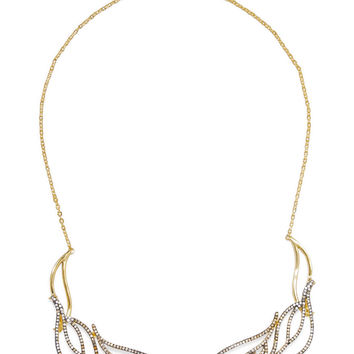 Brillant gold-tone crystal necklace | Noir Jewelry | US | THE OUTNET