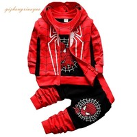 New Spiderman Baby Boys Clothing Sets
