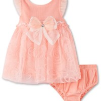 Children's Apparel Network Baby-girls Newborn 2 Piece comfort Dress and Panty