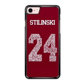 Stiles Quote Jersey Stilinski iPhone 7 Case