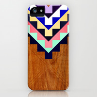 Wooden Tribal iPhone & iPod Case by House of Jennifer