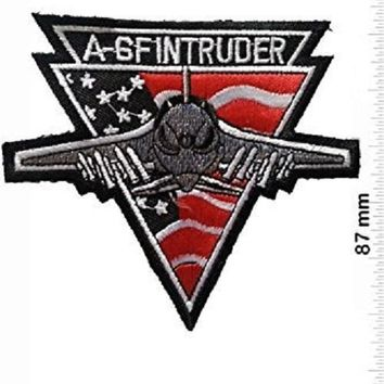 A 6f Intruder Military U.s. Army Air Force Tactical Vest Logo Jacket T- Shirt Patch Sew Iron on Embroidered Badge Sign Costum Gift