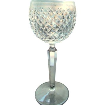 Waterford Crystal Alana Pattern Wine Hock