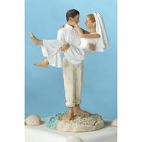 Lillian Rose - Just Married Beach topper - Caucasion