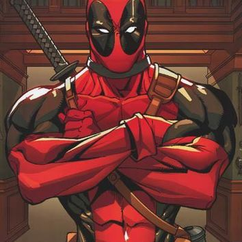 Deadpool Anti-Hero Marvel Comics Poster 22x34