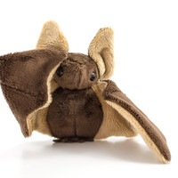 Brown Bat Stuffed Animal Plush Toy