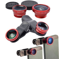 3-in-1 Mobile Phone Lens Kit - iPHone 6 - Samsung Note 2/3/4 S4
