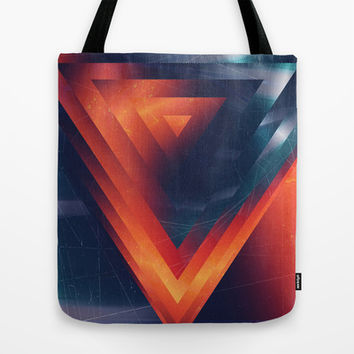 Triangled Tote Bag by DuckyB (Brandi)