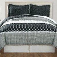 PEM America Dots and Pepper Twin Comforter with Sham - CS2770TW-1500