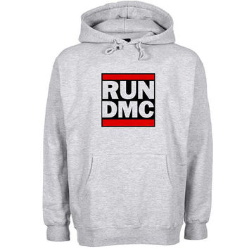 run dmc Hoodie Sweatshirt Sweater Shirt Gray and beauty variant color for Unisex size