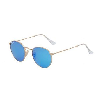 NEW Genuine Ray Ban RB3447 1124L Gold Mens Womens Sunglasses Glasses Polarised