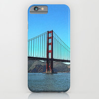 San Francisco Golden Gate iPhone & iPod Case by Shu | Formanuova