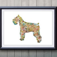 Terrier Dog Print - Home Living - Animal Painting -  Terrier Dog Animal Art - Wall Decor - Home Decor, House Warming Gifts
