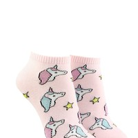 Unicorn Star Ankle Socks
