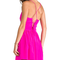 Rory Beca Codac Ballet Back Dress in Pink