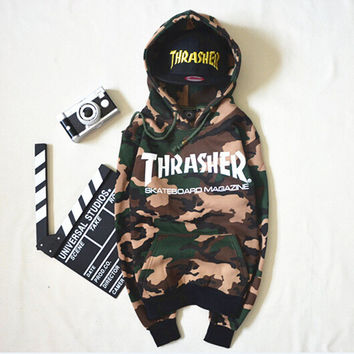 Hip hop men women sportswear hooded sweatshirts mens skateboard graphic pullover hoodies men thrasher hoodie pigalle tracksuit