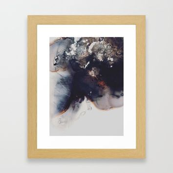 left to smolder Framed Art Print by duckyb