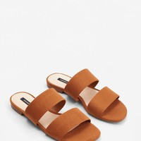 Decorative strap sandals
