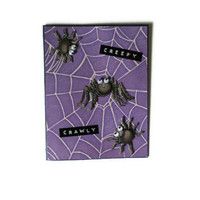 Creep Crawly Halloween Card/Kids Card
