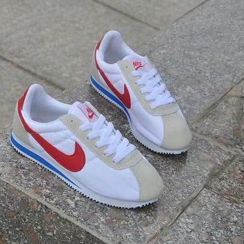 nike cortez classic unisex sport casual cloth surface running shoes couple retro sneakers