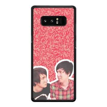 Dan And Phil 04 Samsung Galaxy Note 8 Case