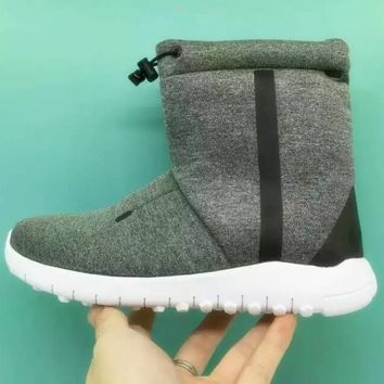 "Winter ""NIKE"" Women Tech Fleece Boot Casual Shoes"