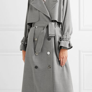 Golden Goose Deluxe Brand - Vela wool-drill trench coat