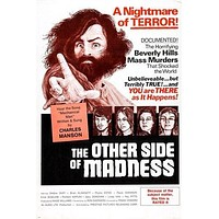 THE OTHER SIDE OF MADNESS movie poster CHARLES MANSON murder HORROR 24X36