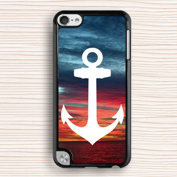 ipod case,cool anchor ipod 5 case,art anchor ipod 4 case,art sky ipod 5 touch case,vivid sky ipod touch 4 case,vivid sky touch 4 case,anchor touch 5 case