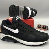 NIKE AIR MAX 180 QS Retro personality cushion comfortable shock absorber sports shoes L-CSXY-4