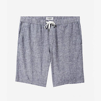 10 Inch Linen-cotton Drawstring Jogger Shorts from EXPRESS
