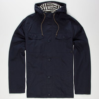 Lost Noise Mens Jacket Navy  In Sizes