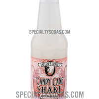 Taylor's Tonics Candy Cane Shake 12oz Glass Bottle