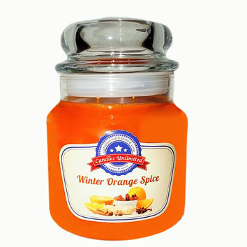 Winter Orange Spice - Soy Blend Container Scented Candles