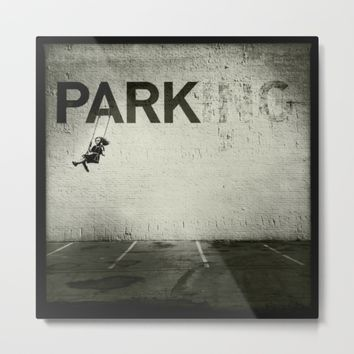 Banksy Tag Metal Print by Adam Reynolds
