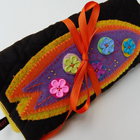 Surf Board Portable Jewelry Pouch/Case/Organizer/Bag/Holder
