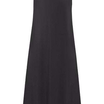 The Row - Gibbons crepe midi dress