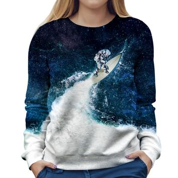 Endless Ocean Womens Sweatshirt
