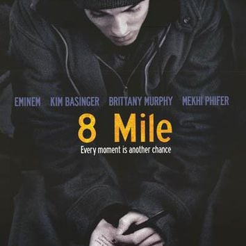 Eminem 8 Mile Movie Poster 22x34