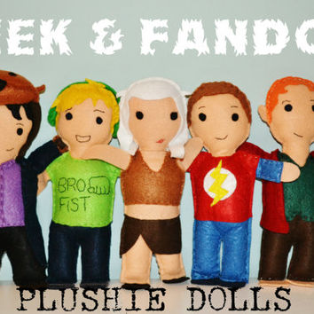 FANDOM / GEEK PLUSHIES Of Your Choice! (Sherlock, Marvel, Supernatural, Youtube etc.) Plush Doll