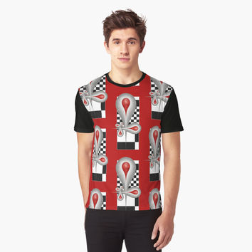 'Caught Tears Fractal Design and Pattern' Grafik T-Shirt by gabiwArt