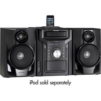 Sharp - 240W 5-Disc Compact Stereo/2-Way Speaker System