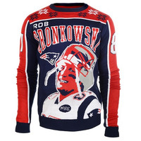 New England Patriots Gronkowski R. #87 NFL 2015 Player Ugly Sweater